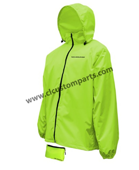 the latest better terrific value Nelson-Rigg compact folding rain jacket Acid Green