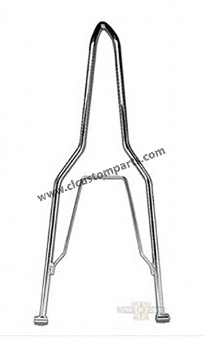 Sissy bar para Rigid Frame con Custom Flat Fender